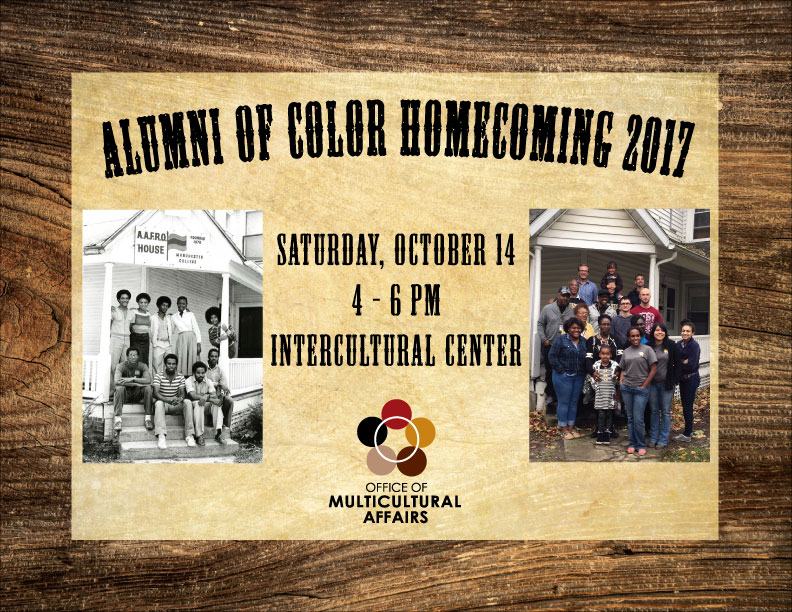 Alumni of Color Homecoming event 2017